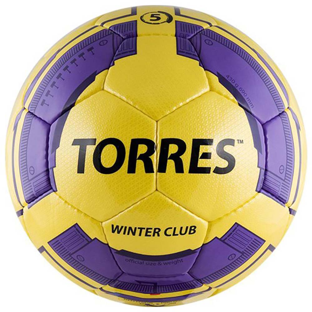 Мяч для футбола Torres Winter Club YELLOW
