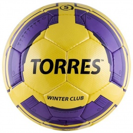 Torres Winter Club YELLOW / Мяч для футбола