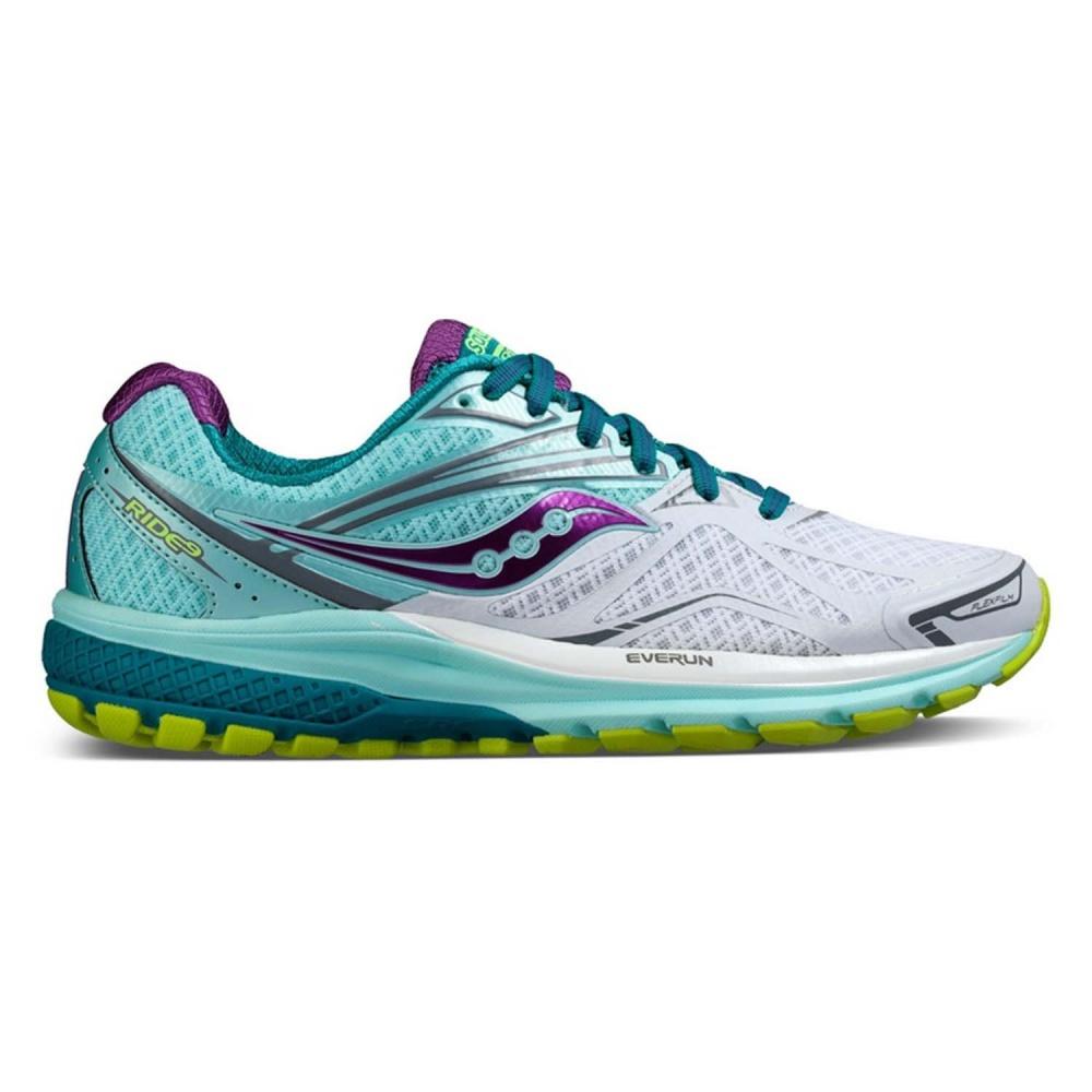 Купить беговые кроссовки Saucony ride 9 (w) в интернет магазине по ... 282137fe6fbaf